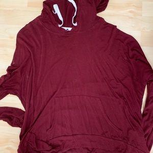 Tops - Long Sleeve Hooded Top